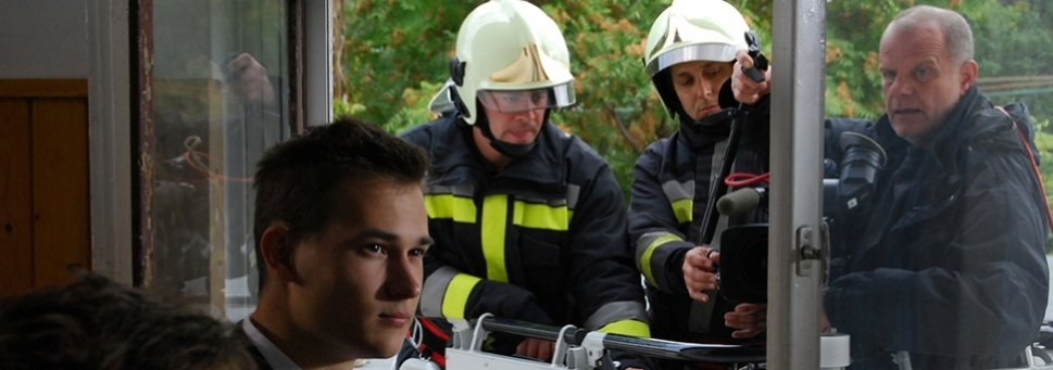 Közösségi szolgálat a katasztrófavédelemnél aloldal fejlécképe